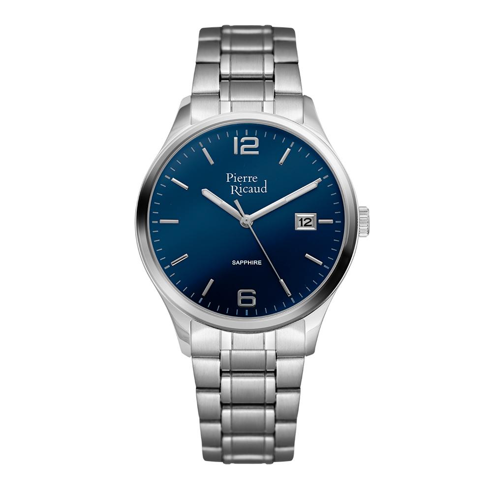 Фото «Мужские часы P91086.5155Q на стальном браслете с минеральным стеклом»
