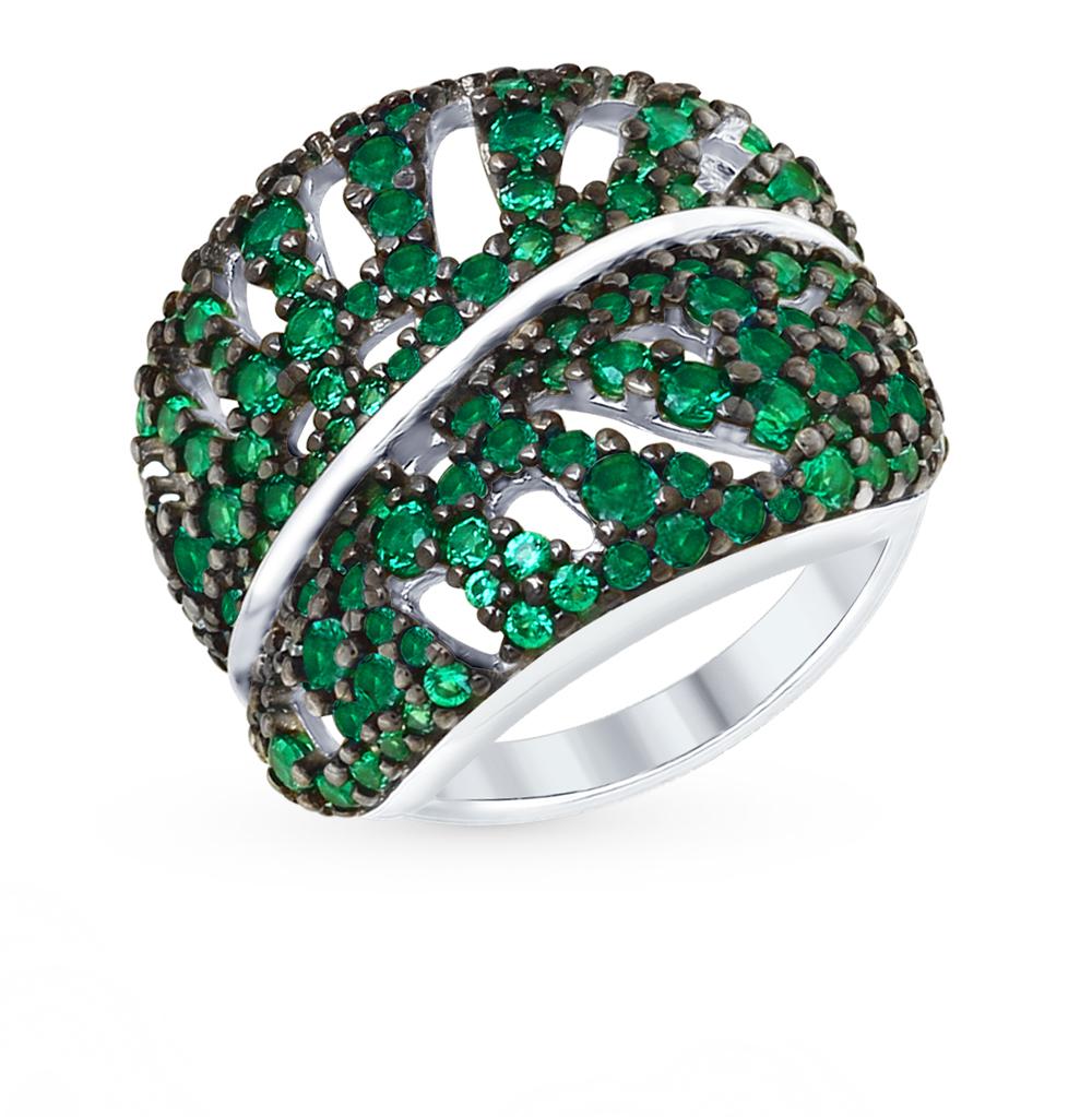 серебряное кольцо с фианитами SOKOLOV 94012365