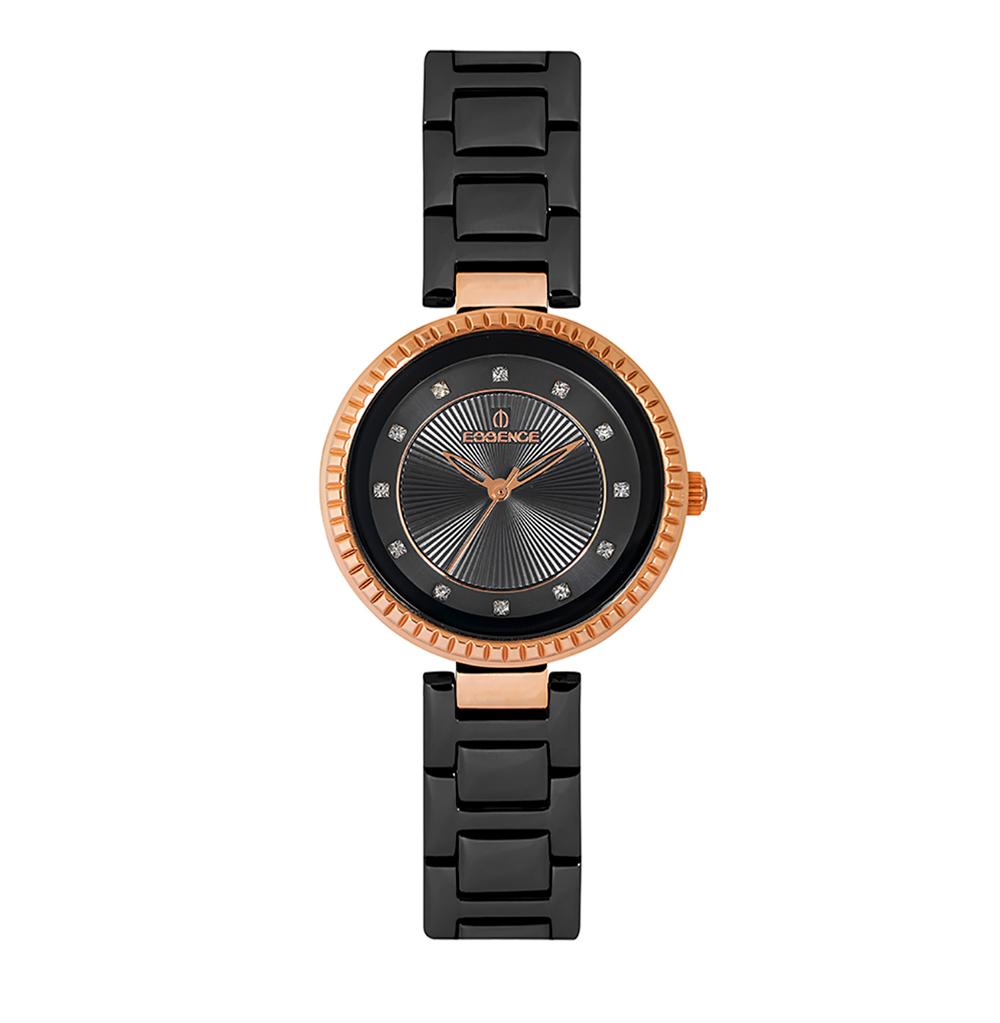Фото «Женские  кварцевые часы ES6500FE.450 на стальном браслете с минеральным стеклом»