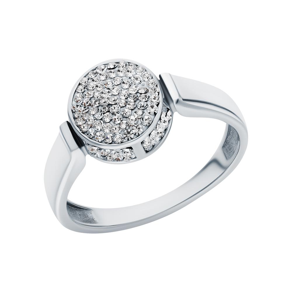 Серебряное кольцо с ювелирными стёклами в Екатеринбурге