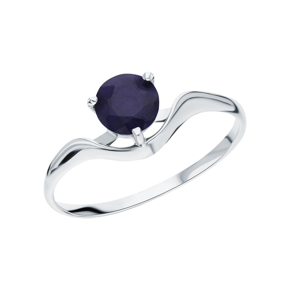 Фото «Серебряное кольцо с сапфирами»