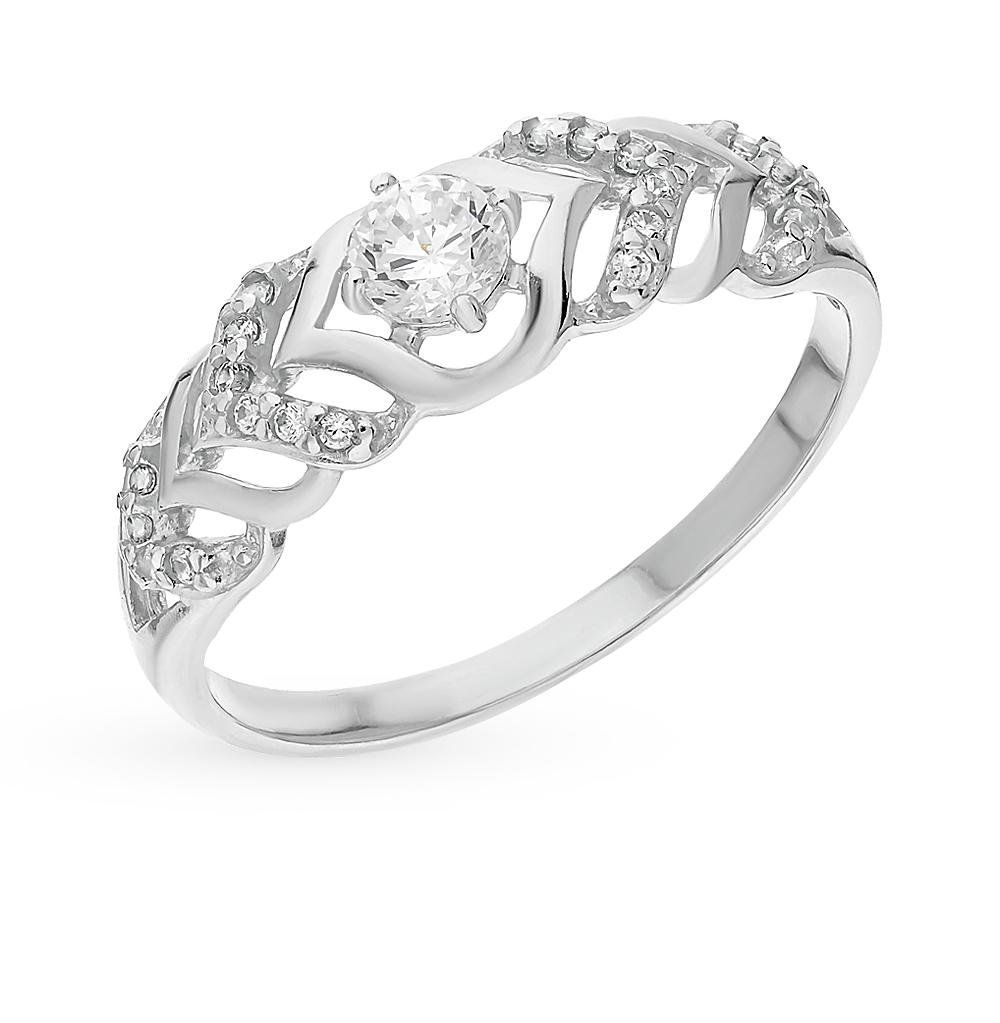 Серебряное кольцо с фианитами SOKOLOV 94012351 в Екатеринбурге