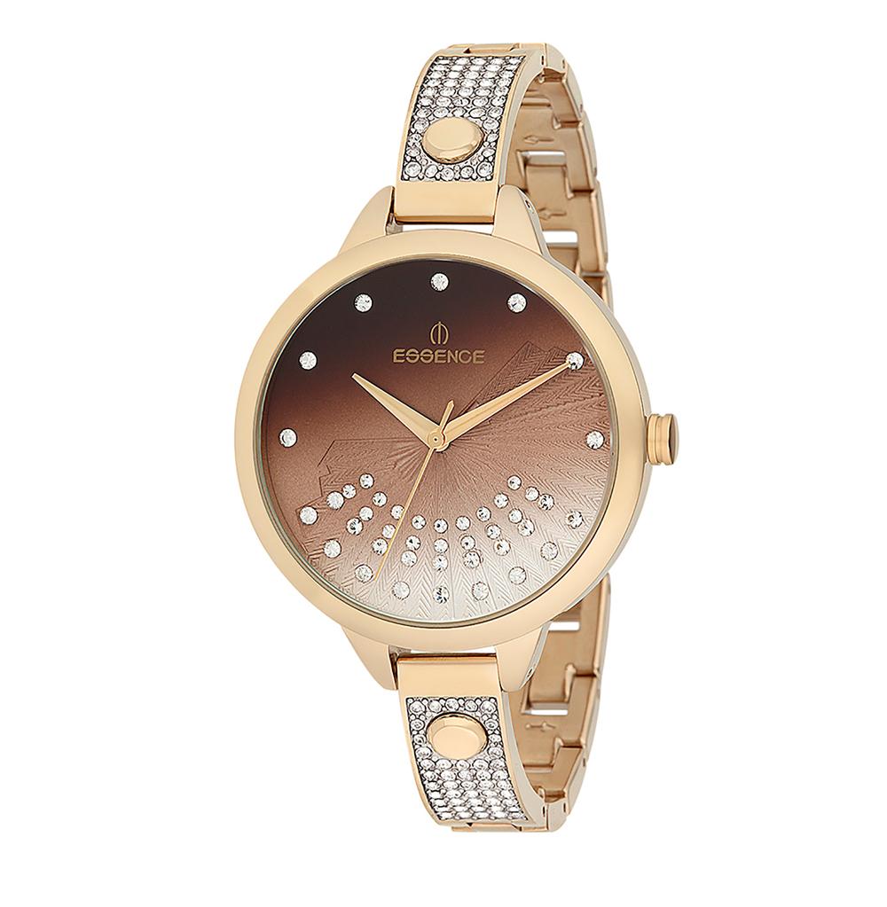 Женские часы ES6363FE.140 на стальном браслете с PVD покрытием с минеральным стеклом