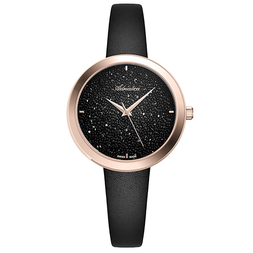 Женские часы A3646.9214Q на кожаном ремешке с минеральным стеклом в Екатеринбурге