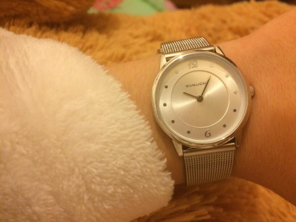 Мне безумно нравятся часы!