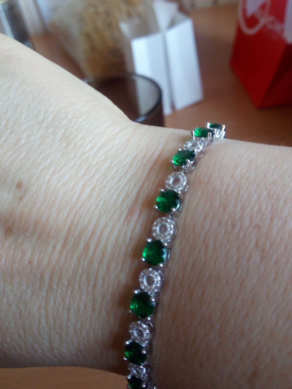Долго приглядывала этот браслет.ждала скидок.
