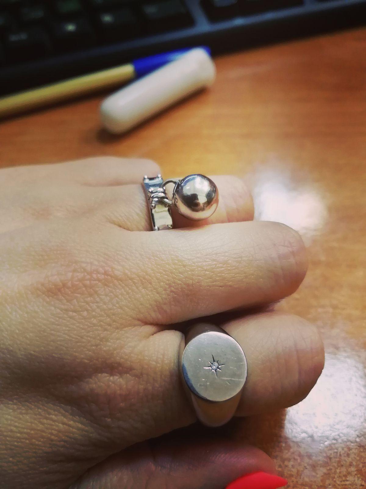 Стильное кольцо по Cartier