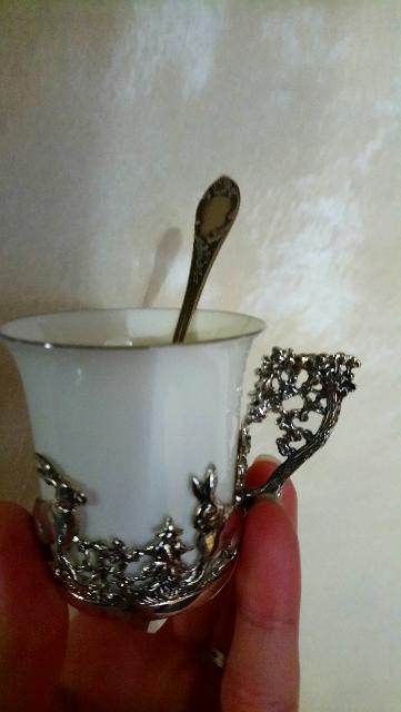 Очень красивая кофейная пара!
