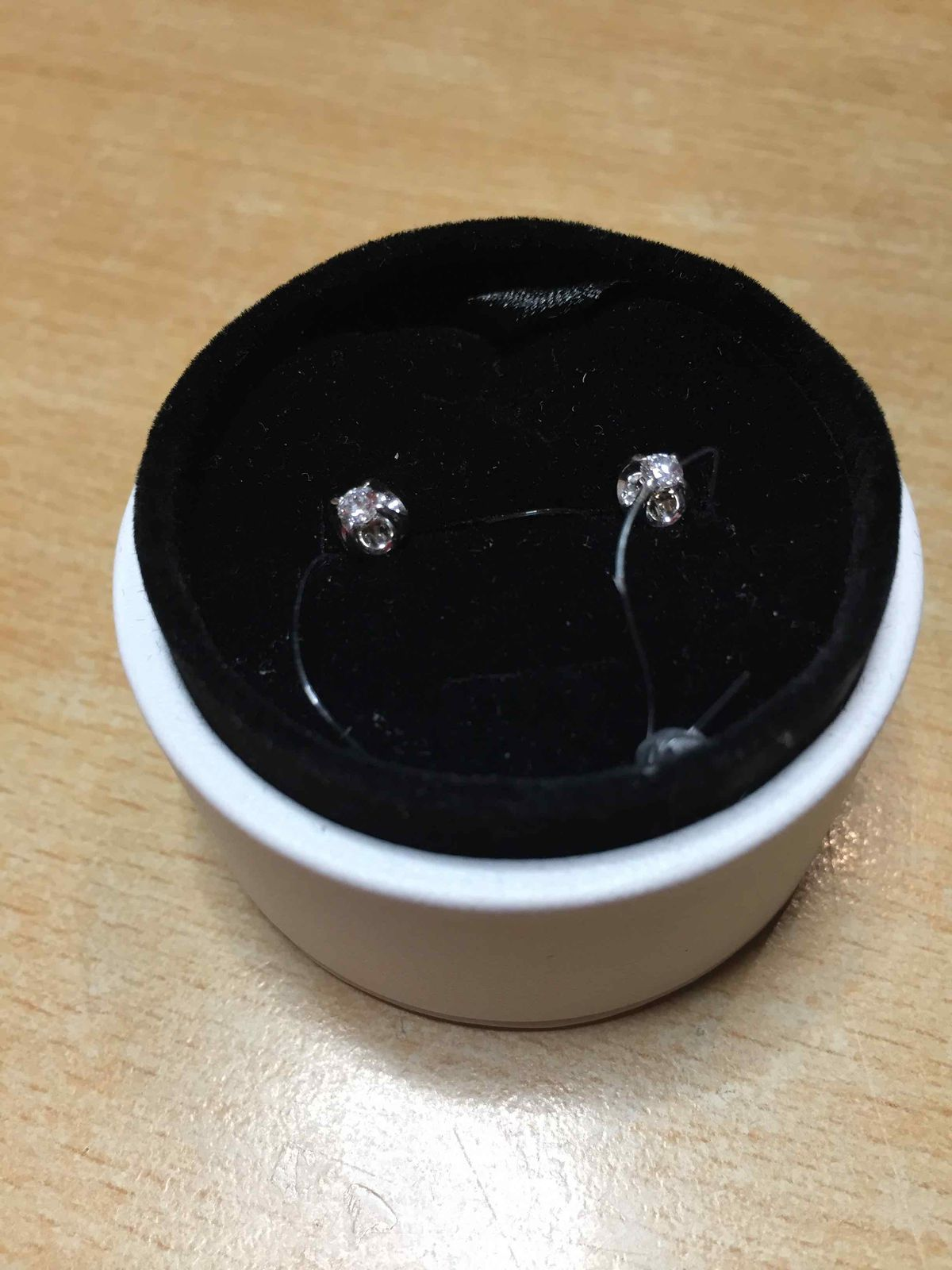 Сережки с бриллиантами
