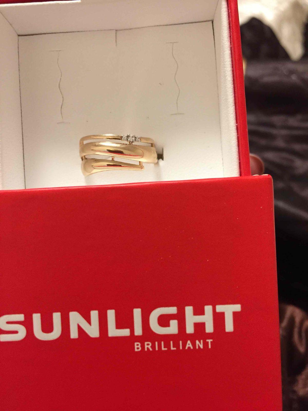 Купили кольцо