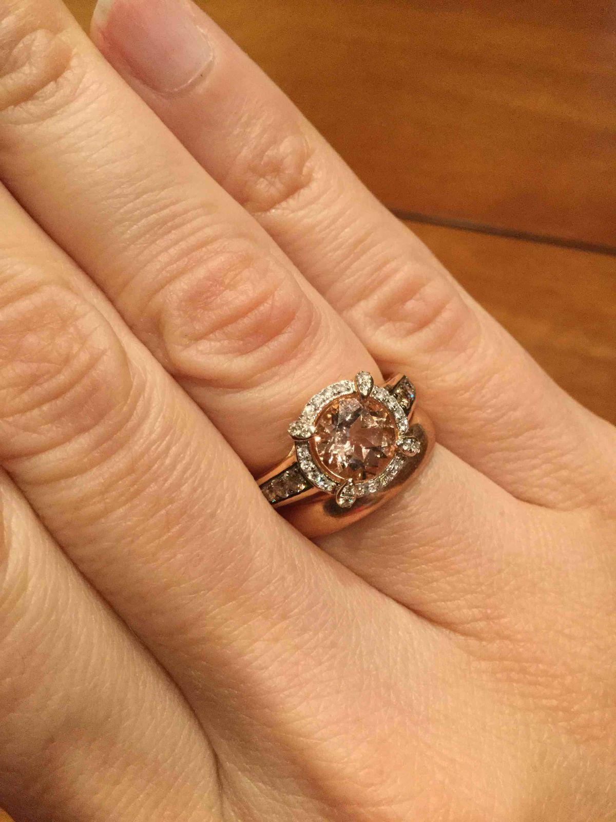 Великолепное кольцо получила на день рождения.