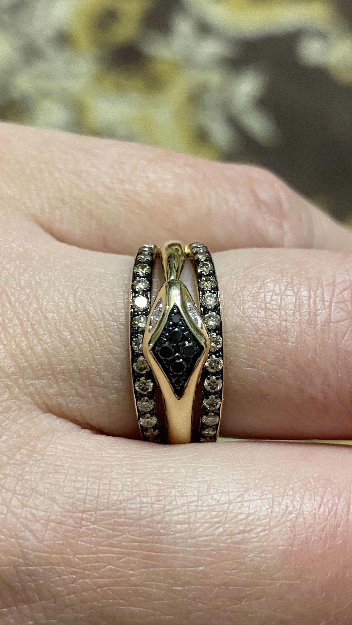 Змейка с бриллиантами