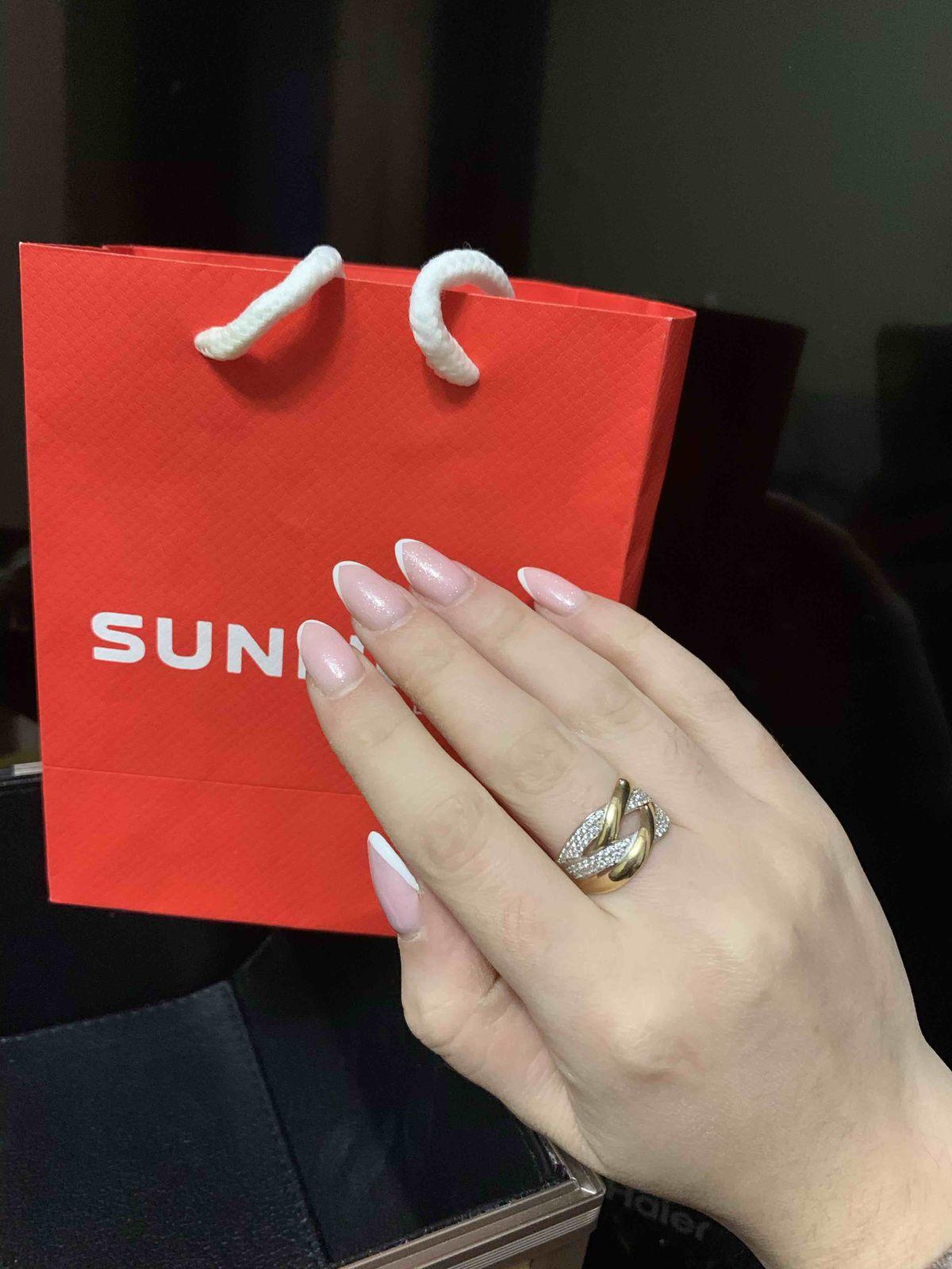 Женнственное кольцо ❤️