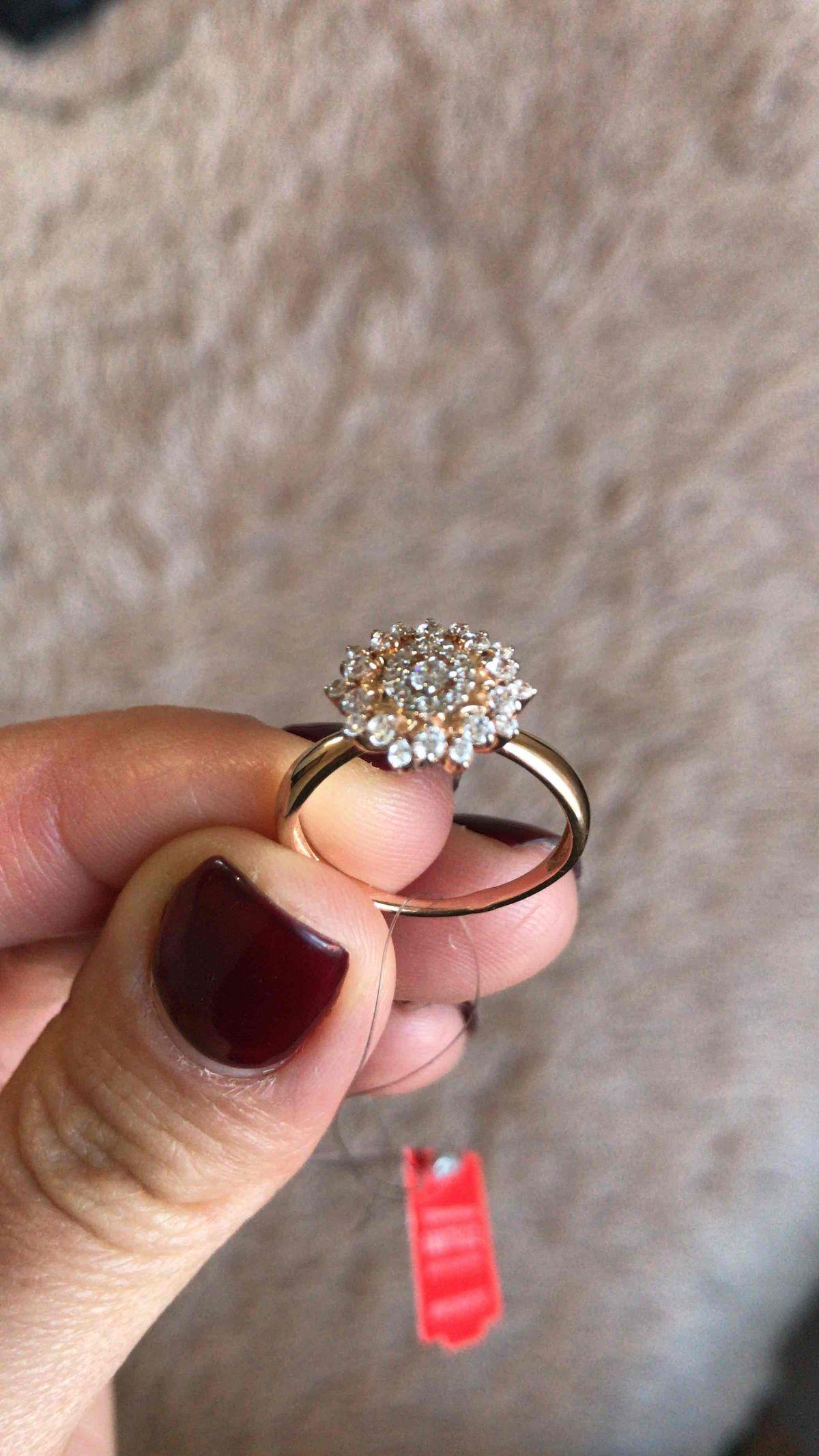 Кольцо понравилось с первого взгляда.