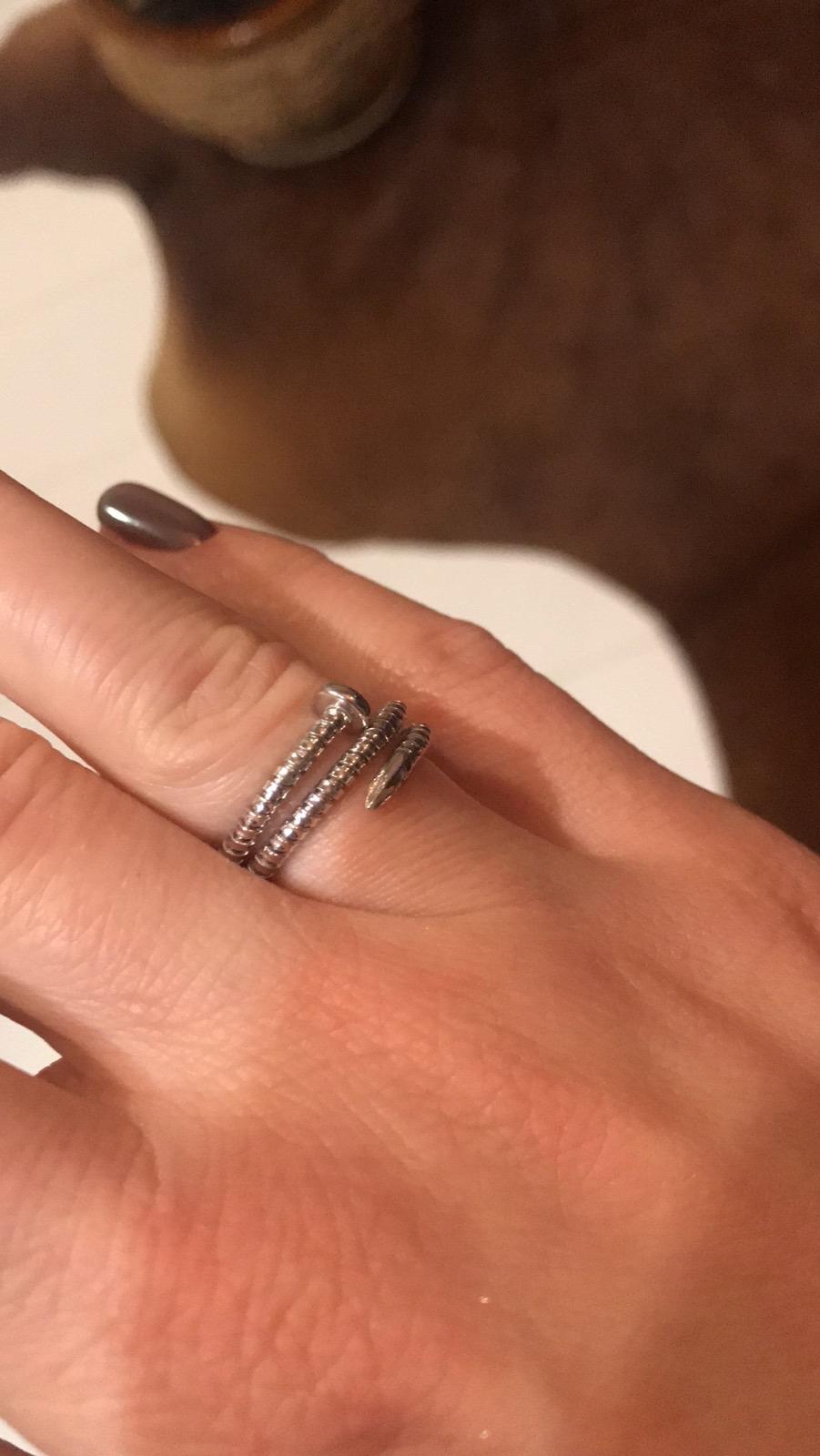 Оригинальное кольцо по доступной цене