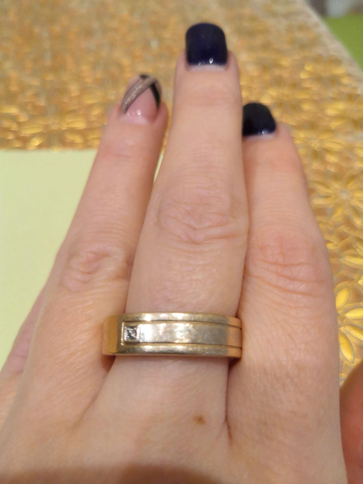 Кольцо очень нравилось! Пока...