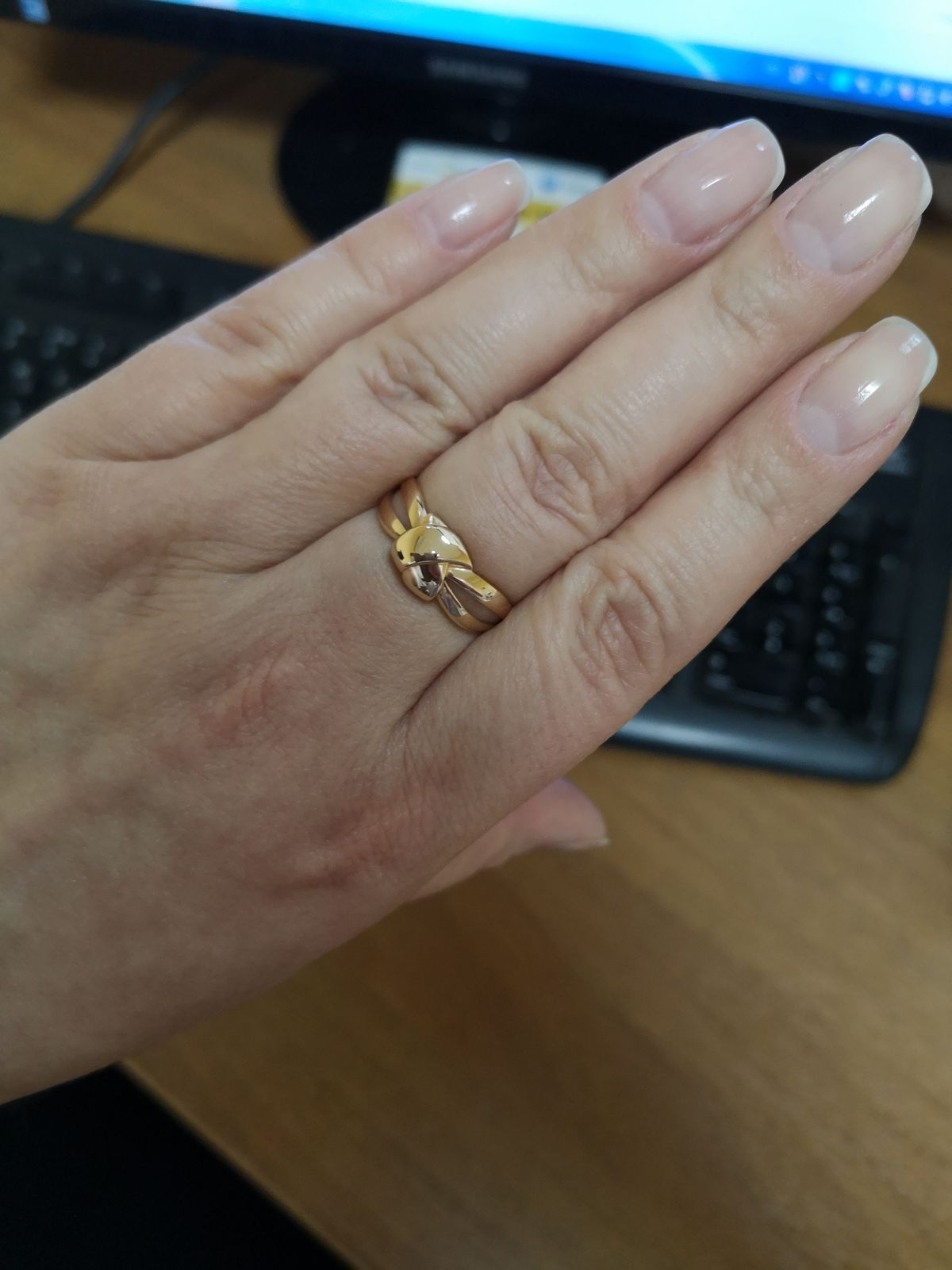 Кольцо Узелок