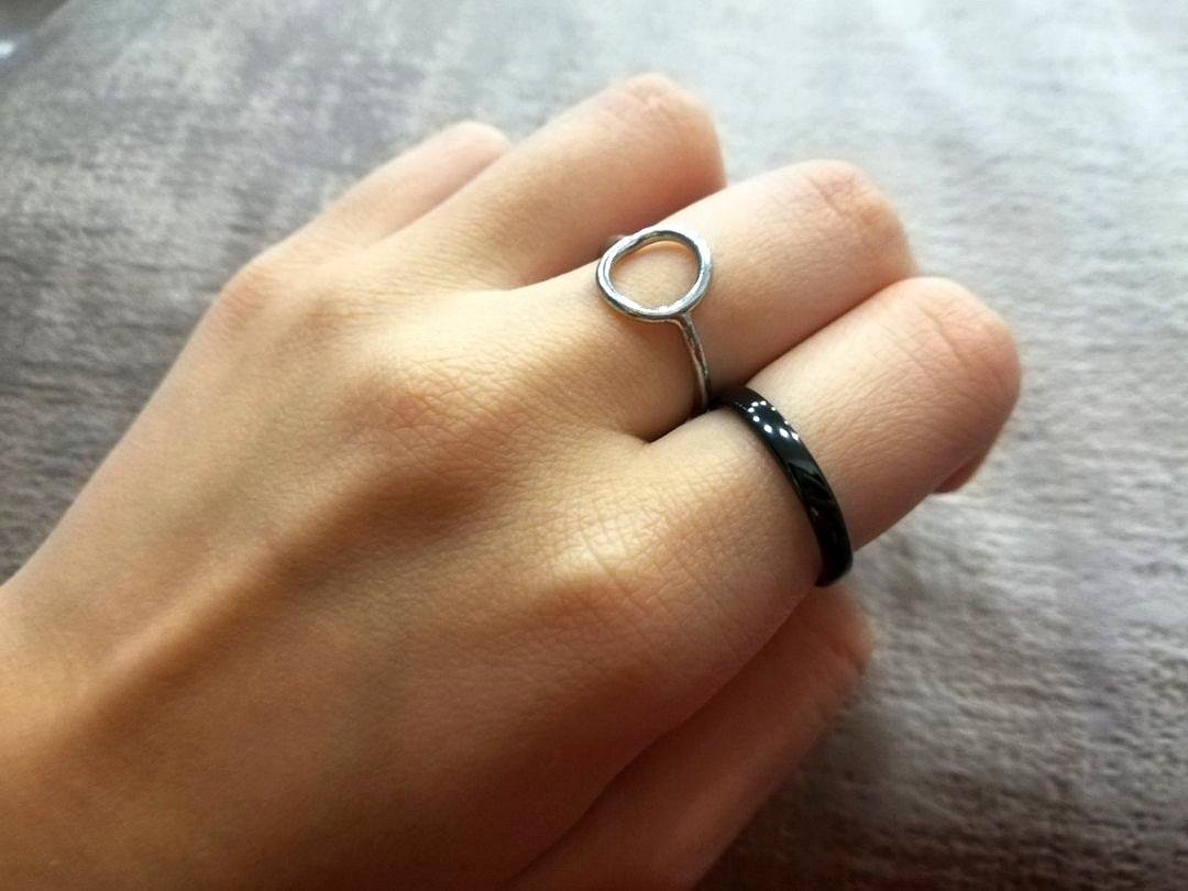 Локоничное, стильное кольцо