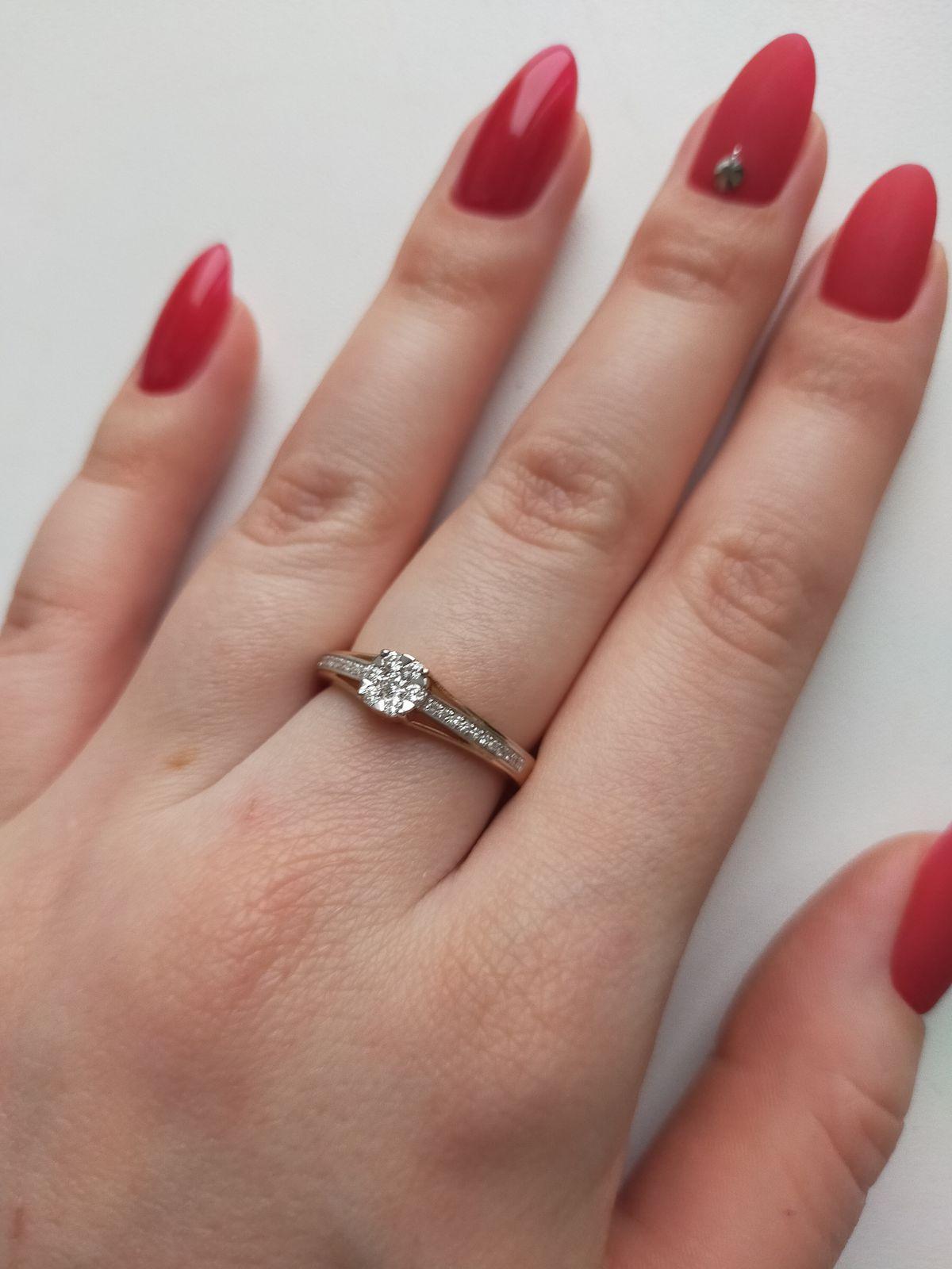 Красивое кольцо 💖