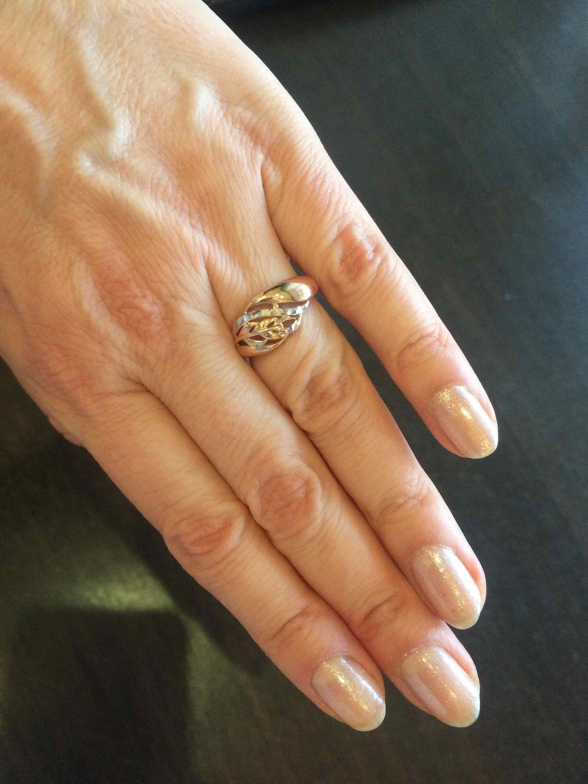 Купила кольцо!
