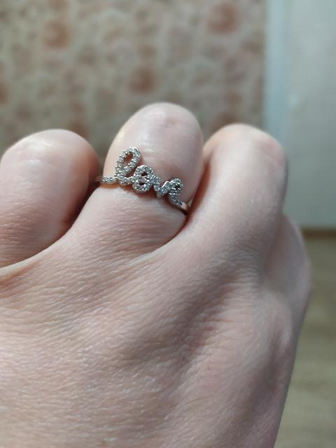 Кольцо, которое притягивает взгляды!