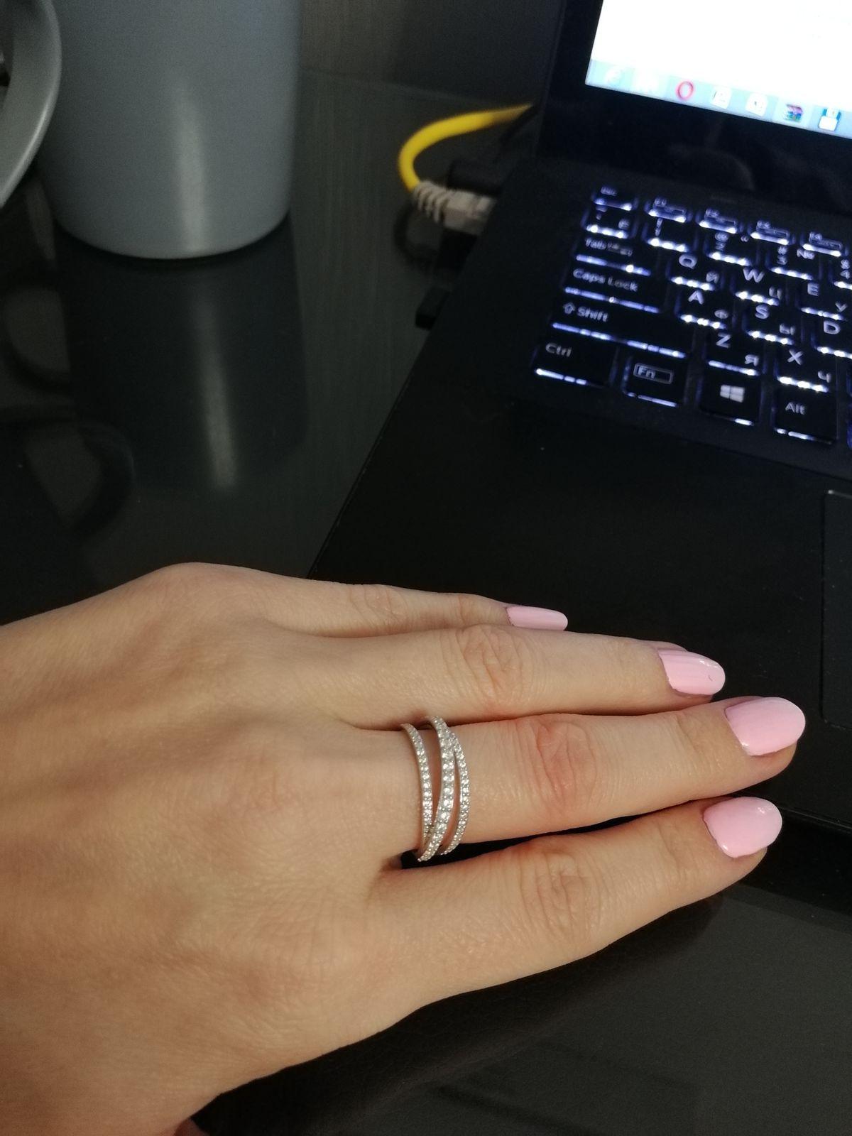 Восхитительное кольцо.