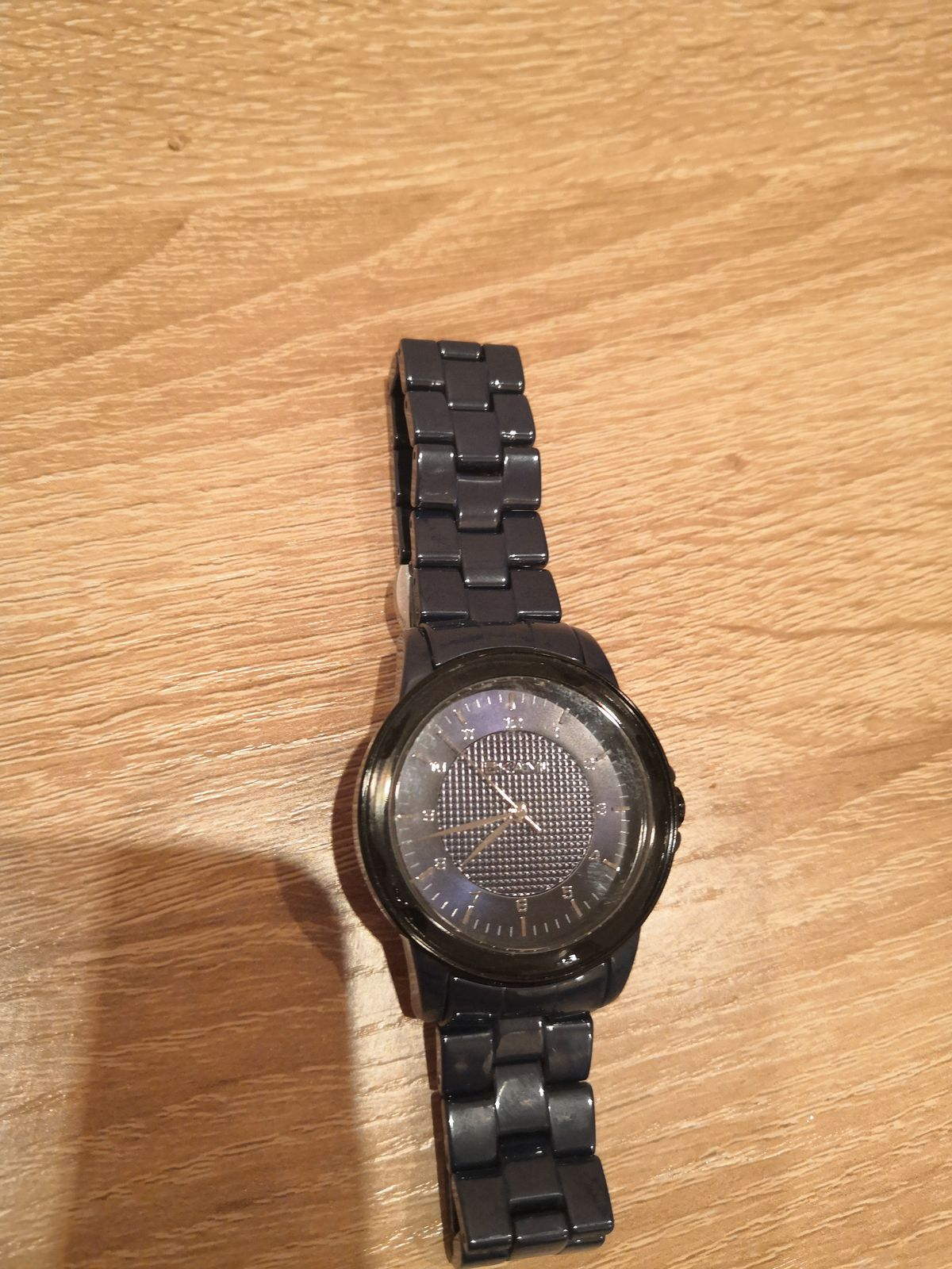 Часы унисекс на керамическом браслет
