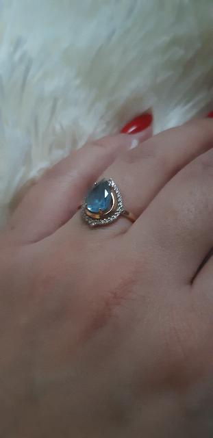 Очень красивое и изящное кольцо!