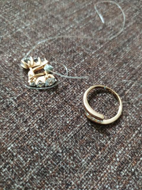 Серьги с кольцом .Покупка