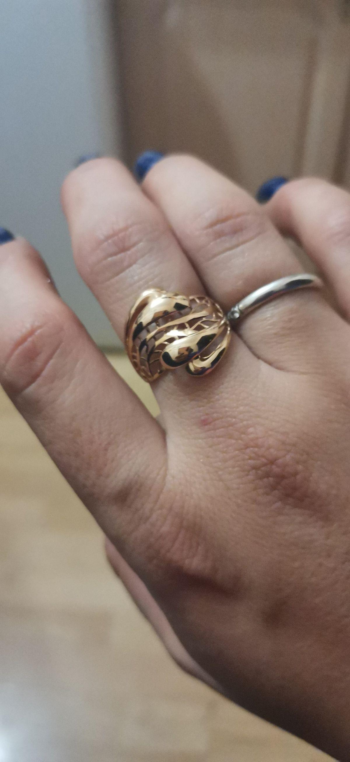 Купила кольцо просто вышка