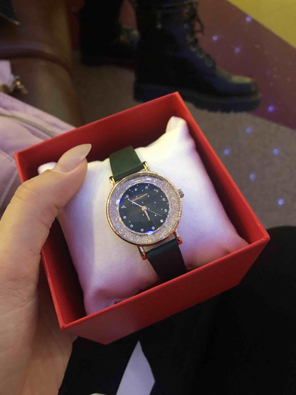 Часы изумрудные