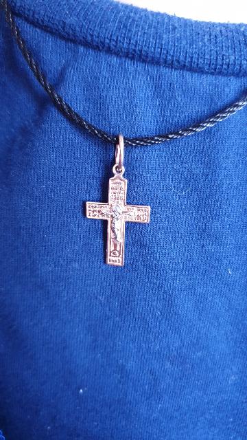 Крестик для мальчика