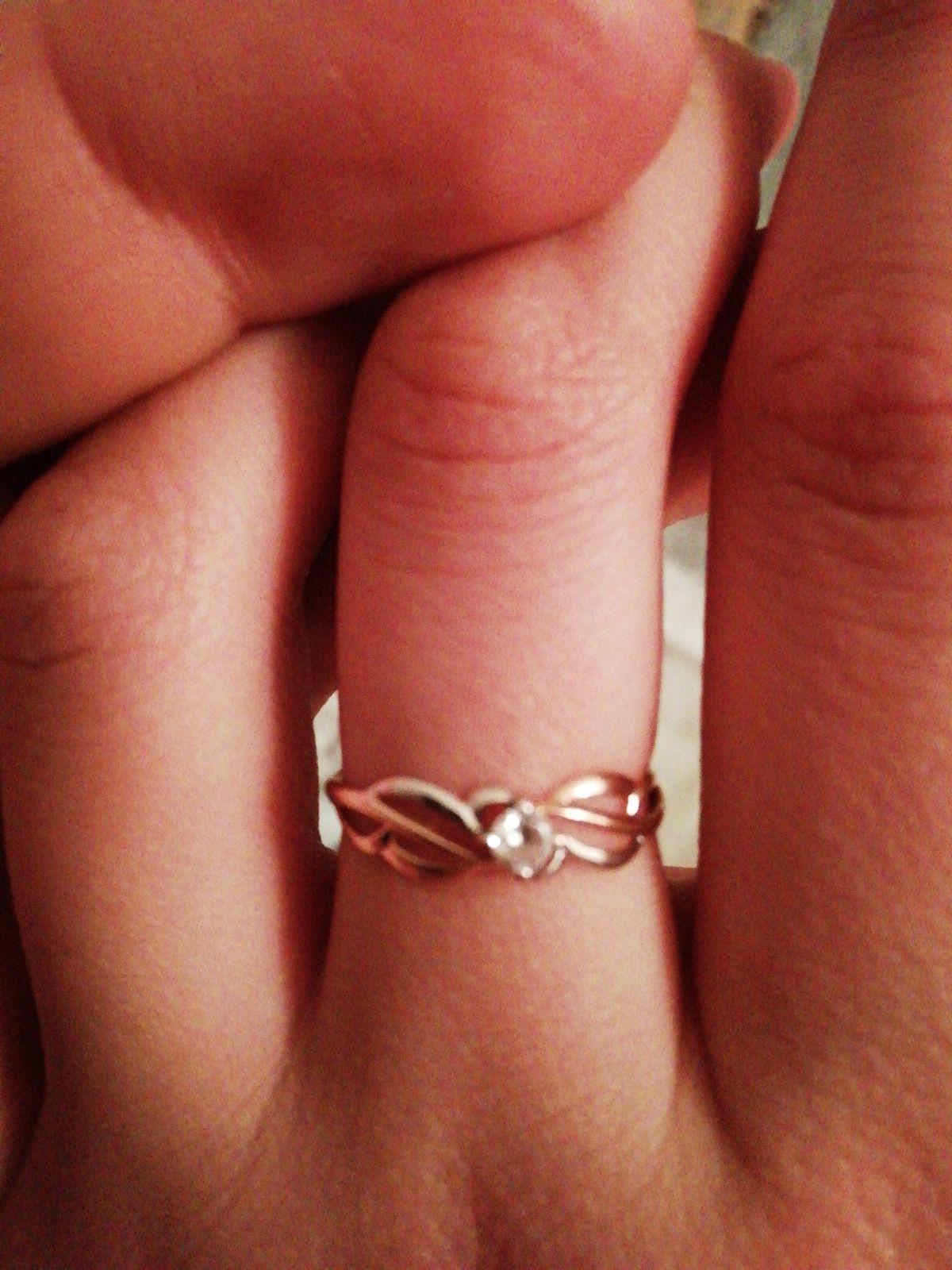 Покупал кольцо девушке