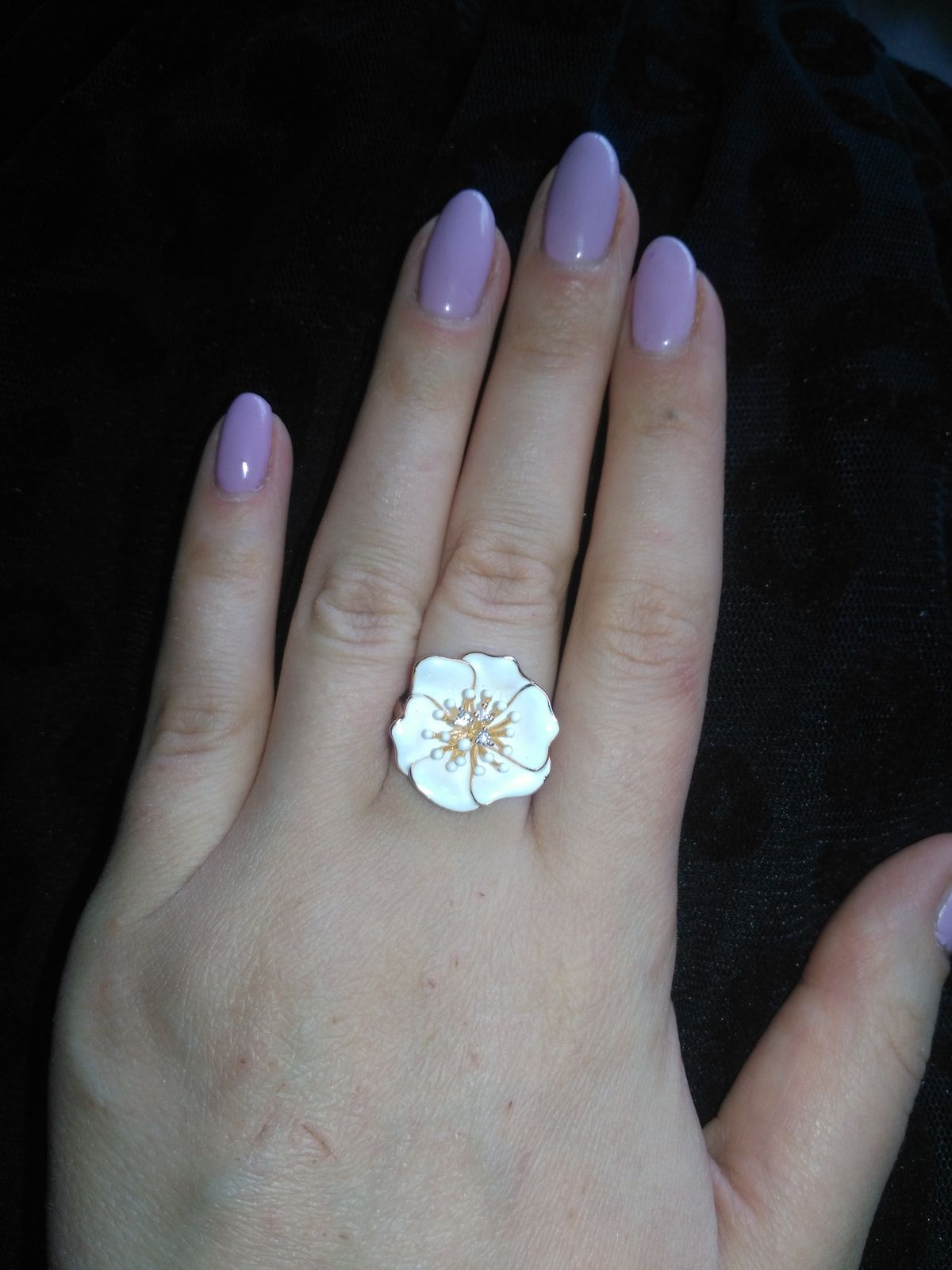 Красивое и очень стильное кольцо)