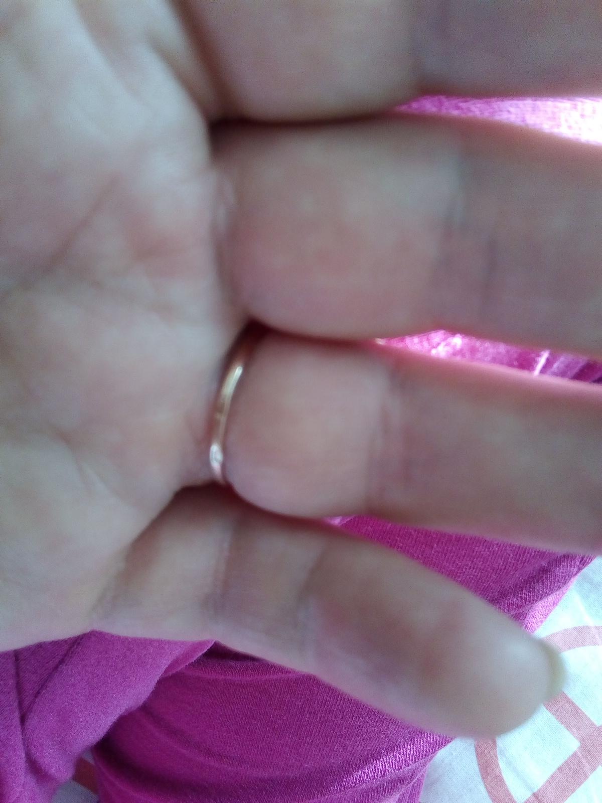 Удобное кольцо.
