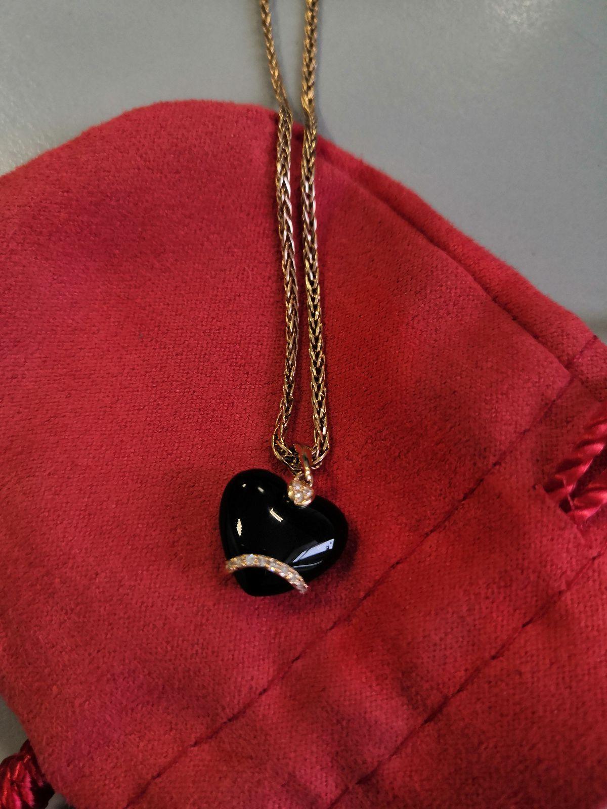Сердце с бриллиантами ❤️