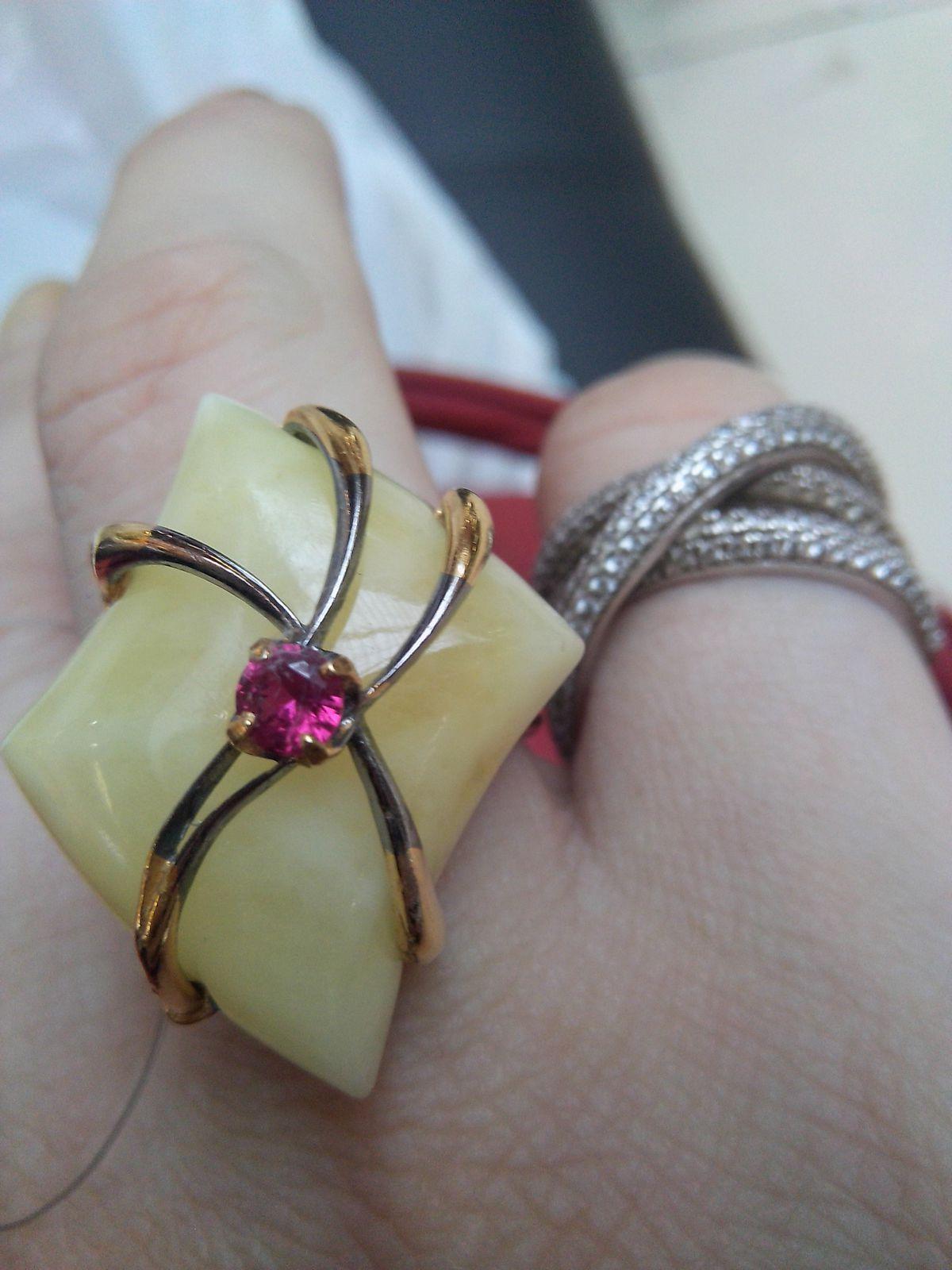 Стильный перстень