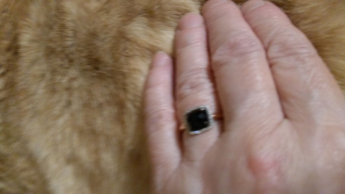 Красивое кольцо -классика