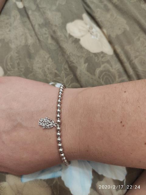 Серебреный браслет .