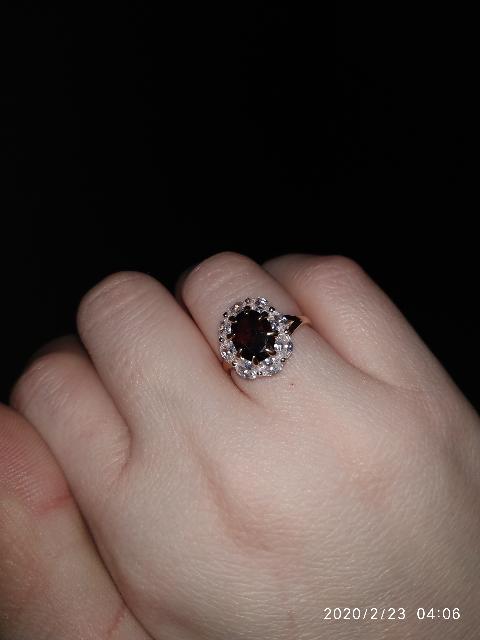 Красивое кольцо!!!Все понравилось!!!