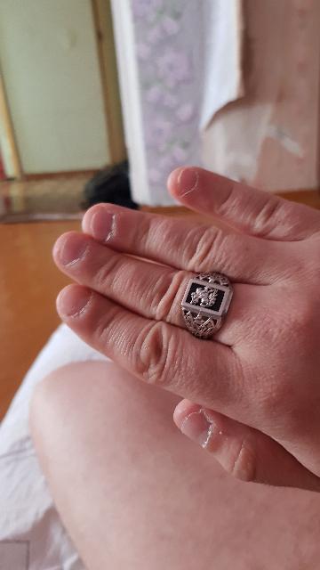 Крутое кольцо!!!