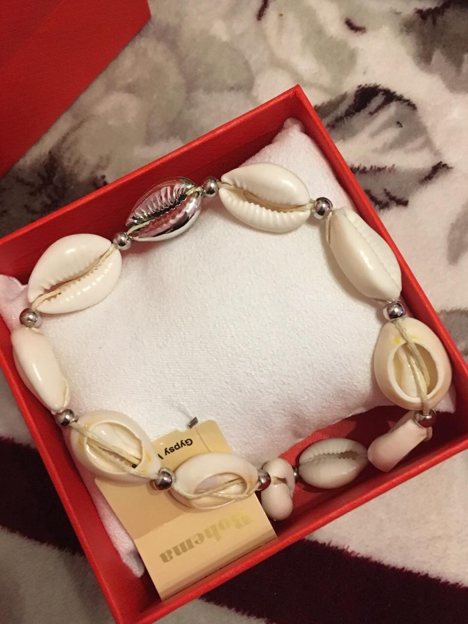 Изумительное ожерелье из ракушек
