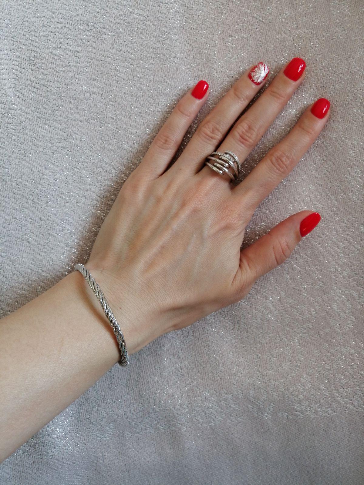Объемное, интересное кольцо
