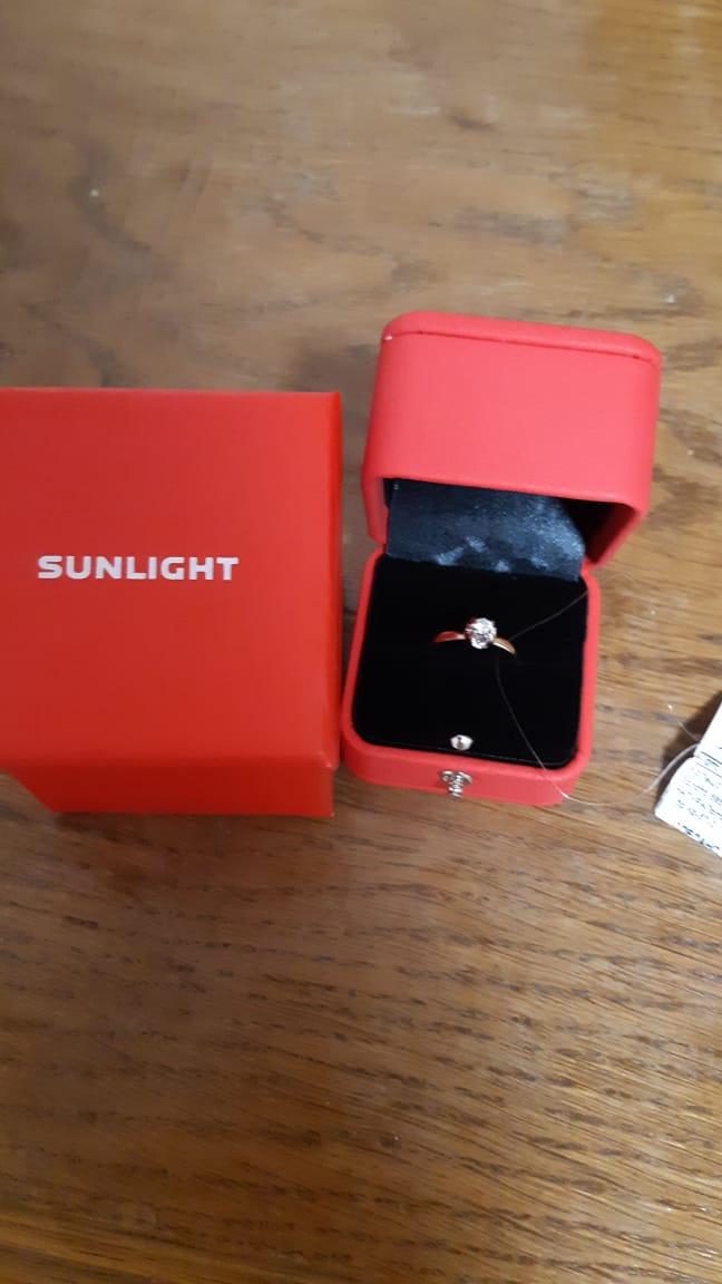 Купил своей жене в подарок кольцо с бриллиантом Якутии. Кольцо бомбовая 💣!