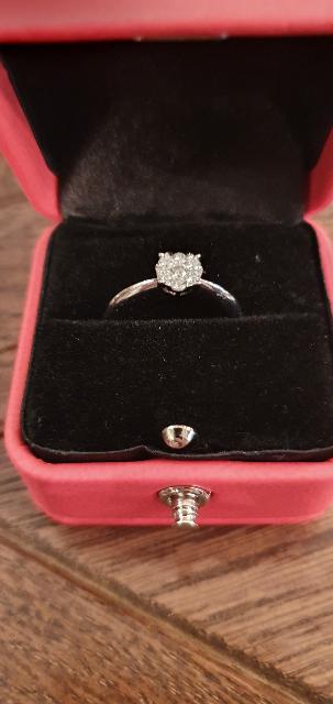 Покупка кольца.