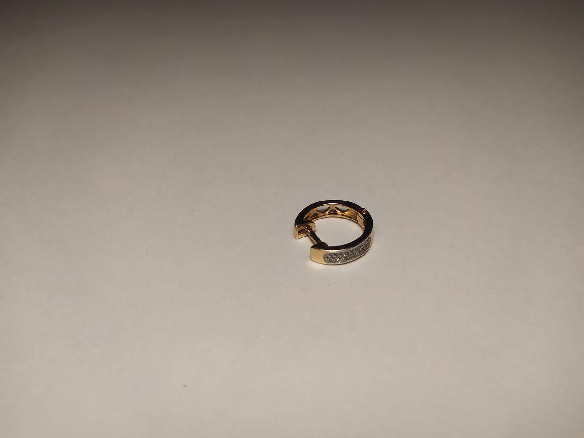 Мои первые серьги с бриллиантами!