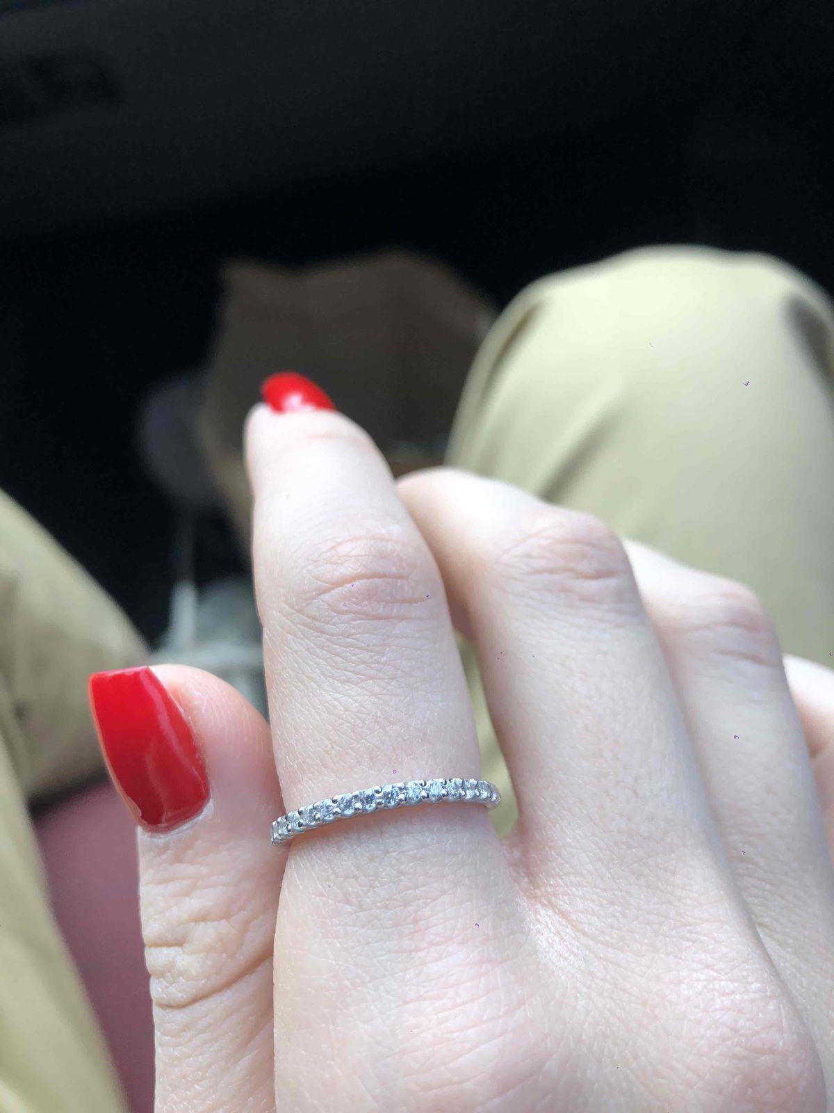Прекрасное кольцо , минимализм
