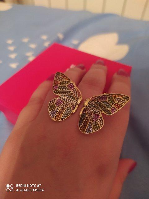 Восхитительное и необычное кольцо