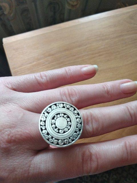 Спасибо за великолепное кольцо