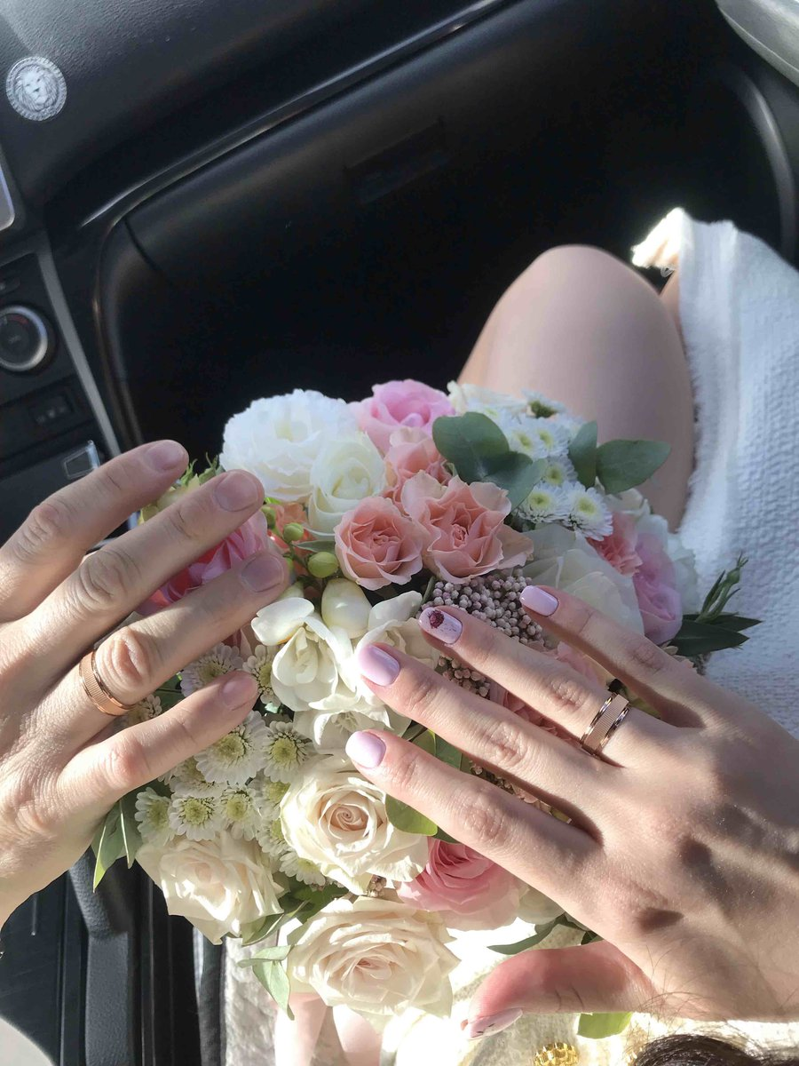 Обручальное кольцо очень понравилось
